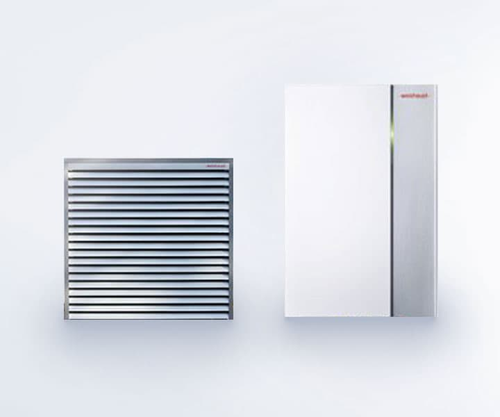 pompa di calore biblock Weishaupt