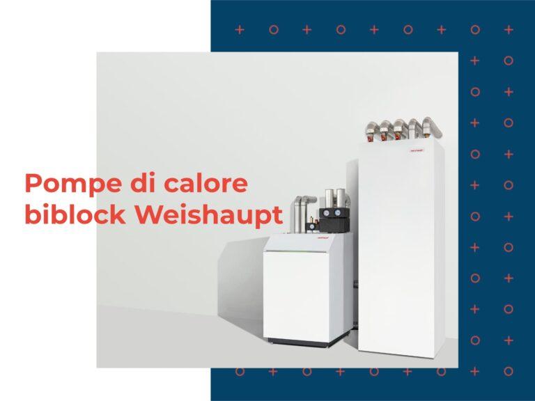 pompe di calore biblock weishaupt